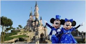 DISNEYLAND PARIS MINNIE E TOPOLINO